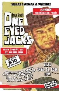 One-Eyed Jacks Poster