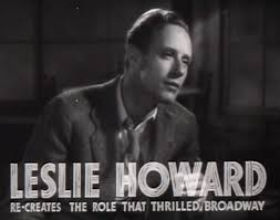 Leslie Howard in The Petrified Forest (courtesy Verduno)